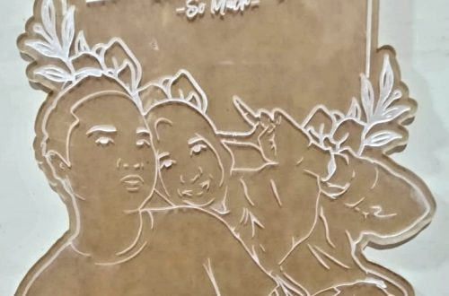 Laser Grafir Acrylic